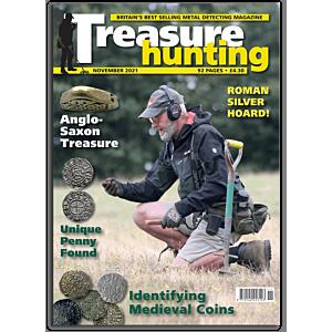 Treasure Hunting Magazine november 2021